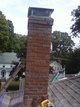 Completed chimney rebuilding job