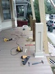 Professional front porch remodeling