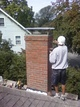 Residential chimney rebuilding service