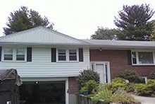 Residential siding renovation